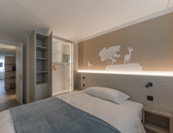 Schlafzimmer 2-Zimmer Wohnung